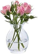 Dartington Crystal Flower Garden Bloom Vase,
