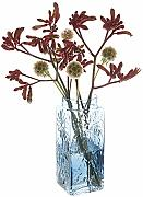 Dartington Crystal Marguerite Vase hoch, 210 mm