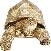 Deko Figur Turtle Gold Medium