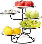 dewdropy Etagere Obst, Obsttablett Snack Rack