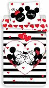 Disney Mickey & Minnie Mouse Heart & Stripes