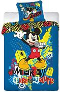 Disney MICKEY MOUSE ROCKSTAR Bettwäsche 160x200cm