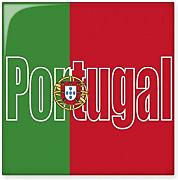 DIYthinker Portugal Land Flagge Namen