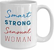 DKISEE Smart Strong Sinnliche Frau Tasse –
