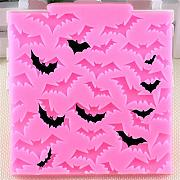 Dosige Halloween Silikon Backform Bat-Muster DIY