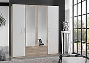 Dreams4Home Drehtürenschrank 'Isa XL,