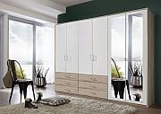 Dreams4Home Kleiderschrank 'Drina I' -