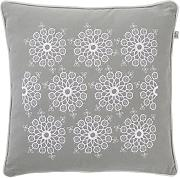 Dutch Decor Kissen Malka 45x45 cm Mist -