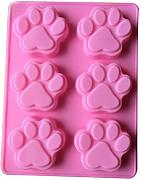 dylandy Backform Katze Paw Print Silikon Form