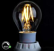 E27 4,5W 827 Filament LED-Lampe, dimmbar