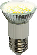 E27 60 SMD / 3 Watt LED Lampe - warmweiß 2700K