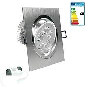 ECD Germany 1-er Pack LED Einbaustrahler 5W 230V -