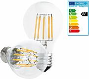 ECD Germany 1 x LED Birne Filament E27 Classic