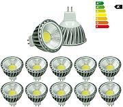 ECD Germany 10-er Pack - 6W - MR16 LED Spot