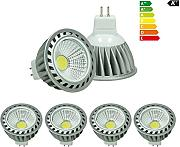 ECD Germany 4er Pack 4W MR16 LED Spot ersetzt 20W