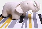 Eeayyygch Creative Animal Hocker, Cute Elephant