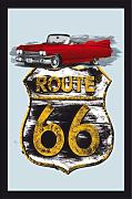 empireposter - Route 66 - Cadillac Version 2 -