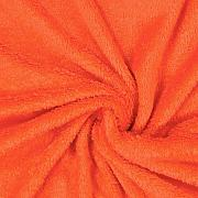 Fabulous Fabrics Teddy Plüsch Kuschel orange -