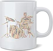 Feel Good Art Hochglanz-Keramik Tasse in Modernes
