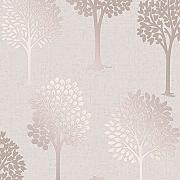 Fine Décor fd42208 Quarz Baum Tapete, Rose Gold