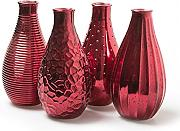 "Flaschenvase ""Decor XL"" H24 cm Old Red"