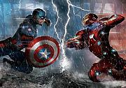 Fototapete Marvel Captian America vs. Iron Man