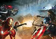 Fototapete Marvel Civil War Avengers Captian