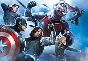 Fototapete Marvel Civil War Avengers Team Captian