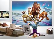 FOTOTAPETE POSTER ICE AGE Kinder Tapete Wanddekor
