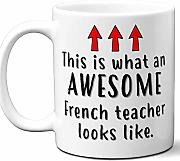 French Teacher Gifts.School Coffee Mug.Best