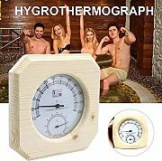 Fuitna Holz Sauna Thermometer White Pine