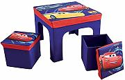 Fun House 712641 Cars Tisch mit 2 Hocker