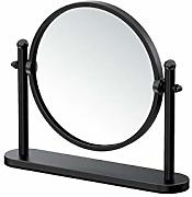 Gatco Table Mirror Tischspiegel, Matte Black