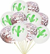 Geburtstagsballons. 10pc / Set Hawaii-Party-Kaktus