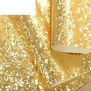 Goldfolie Wallpaper Decke Korridore Tapete