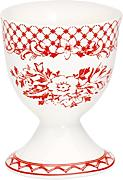 GreenGate Eierbecher - Egg Cup - Stephanie Red