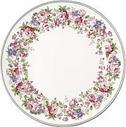 GreenGate Plate Rose White