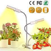 Gspose LED Pflanzenlampe Vollespektrum,45W Grow