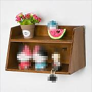 GYP Retro Display Rack, Woodiness Wand Shelf
