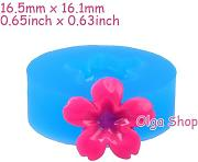 H037 Backform Fimo Backform Silikon Blume (19 mm)