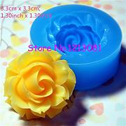 h046moule Fimo Backform Silikon Blume (33 mm)