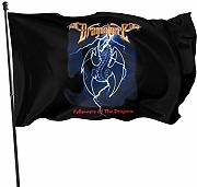 Hdadwy Mbrp Powersports House Flagge Gartenflaggen