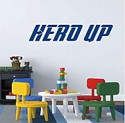 Hero Up Wall Decal Super Hero Squad Vinyl