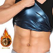 Herren Sweat Shaper Sauna Weste Polymer Weight