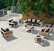 Higold York 5-teiliges Lounge Set Gartenmöbel