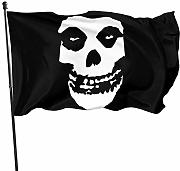 HJEMD Misfits Home Outdoor Dekoration Flagge,