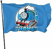 HJEMD Thomas Home Outdoor Dekoration Flagge,