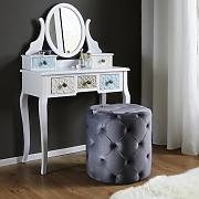 Hocker in Grau 'Juline'