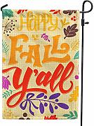 Hollyhorse Happy Fall Yall Gartenflagge,
