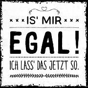 how about tee? - Is' mir egal! Ich lass'
